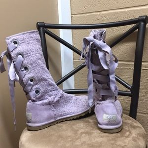 Heirloom Lace Up UGG Boots